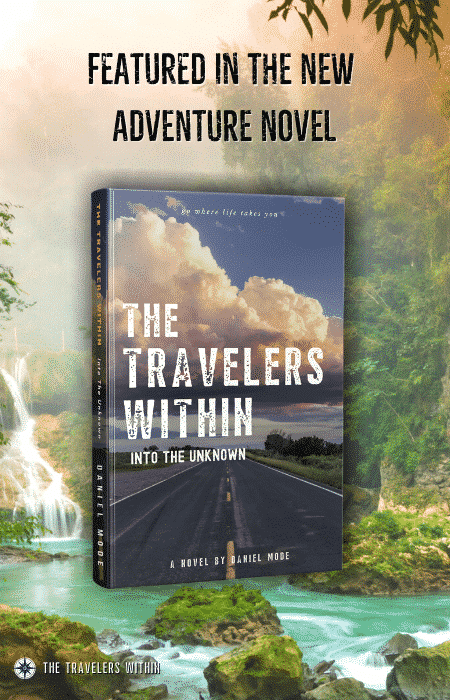 This is the travel adventure fiction series The Travelers Within
